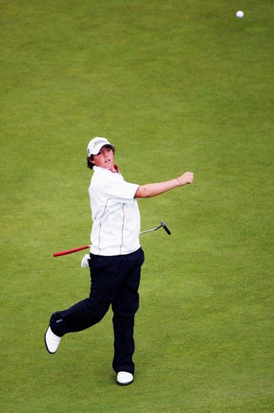 Rory McIlroy at the 2007 British Open