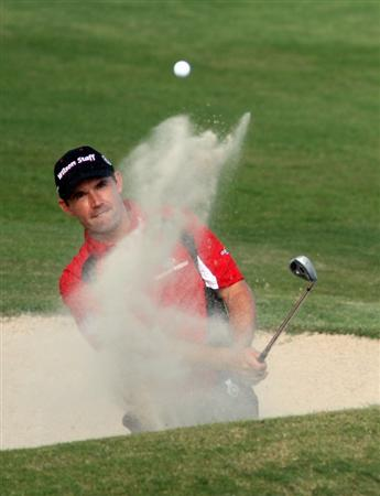 ST GEORGE, BERMUDA - OCTOBER 13:  Padraig Harrington of Ireland during the pro am event prior to the PGA Grand Slam of Golf at the Mid Ocean Club on October 13, 2008 in St. George, Bermuda.  (Photo by Ross Kinnaird/Getty Images)