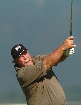 Craig Stadler in action during the second round of the 2005 Boeing Greater Seattle Classic at TPC at Snoqualmie Ridge in Snoqualmie, Washington August 20, 2005.Photo by Steve Grayson/WireImage.com