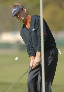 Brad Faxon in action during the first round of the 2006 Nissan Open, Presented by Countrywide at Riviera Country Club in Pacific Palisades, California February 16, 2006.Photo by Steve Grayson/WireImage.com