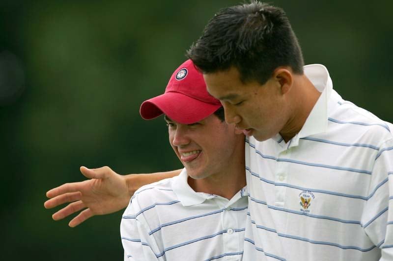 Anthony Kim and Brian Harman, 2005 Walker Cup