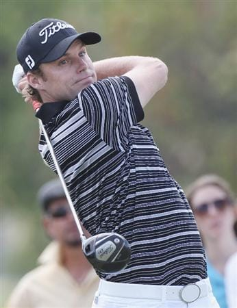 DORAL, FL - MARCH 12:  Nick Watney hits his tee shot on the fifth hole during the third round of the 2011 WGC- Cadillac Championship at the TPC Blue Monster at the Doral Golf Resort and Spa on March 12, 2011 in Doral, Florida.  (Photo by Sam Greenwood/Getty Images)