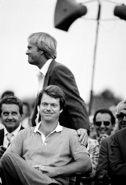 Jack Nicklaus and Tom Watson