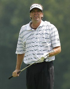 Brent Geiberger during the second round of the Buick Championship held at TPC River Highlands in Cromwell, Connecticut, on June 30, 2006.Photo by Jim Rogash/WireImage.com