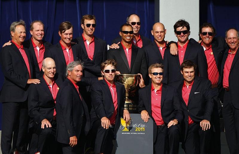 2011 U.S. Presidents Cup team