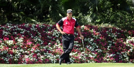 ORLANDO, FL - MARCH 25:  Daniel Chopra of Sweden and the Isleworth Team on the 11th green during the second days play of the Tavistock Cup at Isleworth Golf and Country Club, on March 25, 2008 in Orlando, Florida.  (Photo by David Cannon/Getty Images)