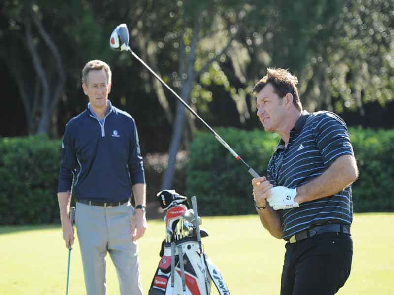 7 Nights at The Academy, Sir Nick Faldo, Rich Lerner