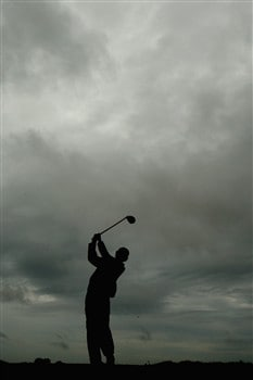 SOUTHPORT, UNITED KINGDOM - JULY 17:  Adam Scott of Australia tees off on the 2nd hole during the First Round of the 137th Open Championship on July 17, 2008 at Royal Birkdale Golf Club, Southport, England.  (Photo by Richard Heathcote/Getty Images)