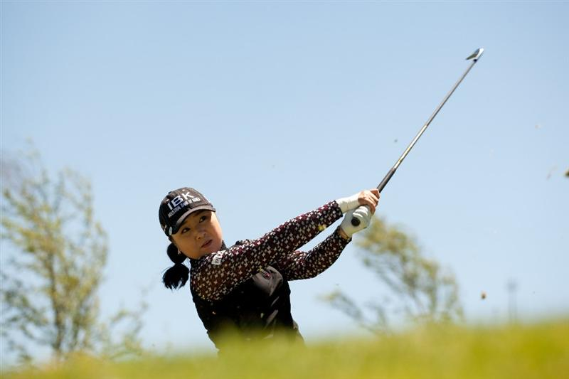 MORELIA, MEXICO - MAY 1: Jeong Jang of South Korea plays a shot during the third round of the Tres Marias Championship at the Tres Marias Country Club on May 1, 2010 in Morelia, Mexico. (Photo by Darren Carroll/Getty Images)