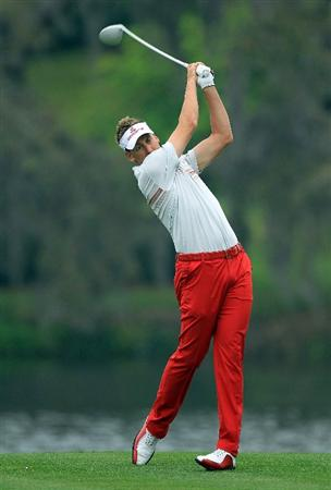 ORLANDO, FL - MARCH 23:  Ian Poulter of England during the pro-am as a preview for the 2011 Arnold Palmer Invitational presented by Mastercard at the Bay Hill Lodge and Country Club on March 23, 2011 in Orlando, Florida.  (Photo by David Cannon/Getty Images)