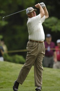 J.C. Snead during the first round of the Commerce Bank Championship on the Red Course at Eisenhower Park in East Meadow, New York, on June 23, 2006.Photo by Steve Levin/WireImage.com