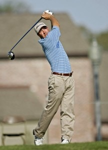 Chad Collins in action during the final round of the Chitimacha Louisiana Open at Le Triomphe Country Club in Broussard, Louisiana on Sunday, March 26, 2006.Photo by Drew Hallowell/WireImage.com