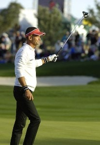 Jesper Parnevik finishes tied for second at  the Bob Hope Chrysler Classic at The Classic Club   on Sunday, January 22, 2006 in Palm Desert, CaliforniaPhoto by Marc Feldman/WireImage.com