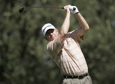 Hale Irwin in action during the second round of the PGA Champion's TOUR 2007 AT&T Champions Classic at the Valencia Country Club in Santa Clarita, California on March 17, 2007. Champions Tour - 2007 AT&T Champions Classic - Second RoundPhoto by Steve Grayson/WireImage.com