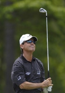 Mark McNulty during the second round of the Regions Charity Classic held at Robert Trent Jones Golf Trail at Ross Bridge in Birmingham, Alabama, on May 6, 2006.Photo by Steve Levin/WireImage.com