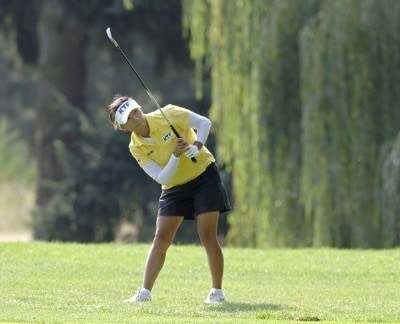 Mi Hyun Kim during the first round of the Safeway Classic at Columbia-Edgewater Country Club in Portland, Oregon on August 18, 2006.Photo by Al Messerschmidt/WireImage.com