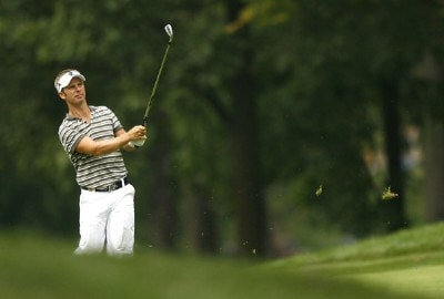 Richard S. Johnson during the first round of the 88th PGA Championship at Medinah Country Club in Medinah, Illinois, on August 17, 2006.Photo by Mike Ehrmann/WireImage.com