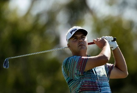MELBOURNE, AUSTRALIA - NOVEMBER 25:  Daniel Chopra of Sweden hits a shot off the fairway during round four of the MasterCard Masters at Huntingdale Golf Course on November 25, 2007 in Melbourne, Australia.  (Photo by Robert Cianflone/Getty Images)