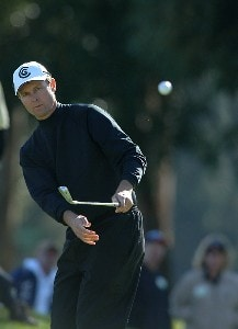 Bob Estes in action during the final round of 2006 Nissan Open Presented by Countrywide at Riviera Country Club in Pacific Palisades, California February 19, 2006.Photo by Steve Grayson/WireImage.com