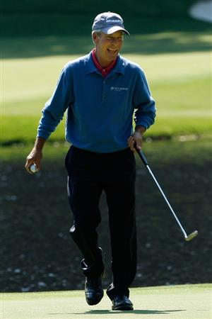 AUGUSTA, GA - APRIL 08:  Ben Crenshaw walks across a green during the Par 3 Contest prior to the 2009 Masters Tournament at Augusta National Golf Club on April 8, 2009 in Augusta, Georgia.  (Photo by Jamie Squire/Getty Images)