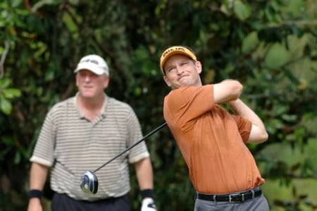 Mark Wilson follows a drive during the final  round of  the 2005 Funai Classic at World Disney World Resort October 23.Photo by Al Messerschmidt/WireImage.com