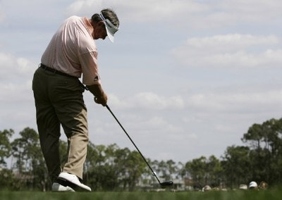 Bobby Wadkins during the second round of the ACE Group Classic held at the Quail West Country Club in Naples, Florida on Saturday, February 24, 2007. Photo by Sam Greenwood/WireImage.com