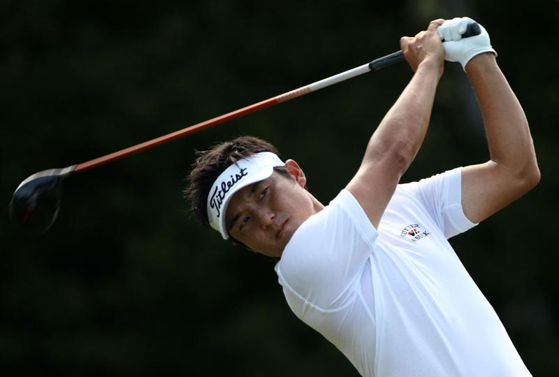 PONTE VEDRA BEACH, FL - MAY 08:  Ryuji Imada of Japan plays his tee shot on the seventh hole during the third round of THE PLAYERS Championship held at THE PLAYERS Stadium course at TPC Sawgrass on May 8, 2010 in Ponte Vedra Beach, Florida.  (Photo by Scott Halleran/Getty Images)