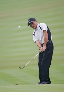 Shigeki Maruyama  during the second round of the 88th PGA Championship at Medinah Country Club in Medinah, Illinois, on August 18, 2006.Photo by Sam Greenwood/WireImage.com