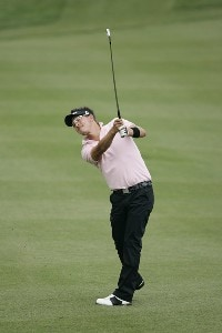 Fredrik Jacobson during the second round at the BellSouth Classic at TPC Sugarloaf in Duluth, Georgia, on March 31, 2006.Photo by: Stan Badz/WireImage