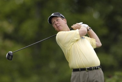 Glen Day during the fourth and final round of the Legend Financial Group Classic at the Stone Water Golf Club in Cleveland, Ohio on Sunday, September 3, 2006.Photo by Steve Levin/WireImage.com