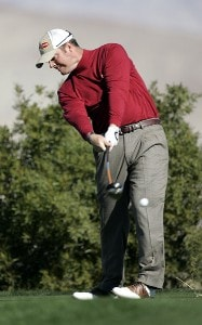 Tag Ridings in action during the second round of the Bob Hope Chrysler Classic held at The Classic Club in Palm Desert, California on Thursday, January 19, 2006.Photo by Sam Greenwood/WireImage.com
