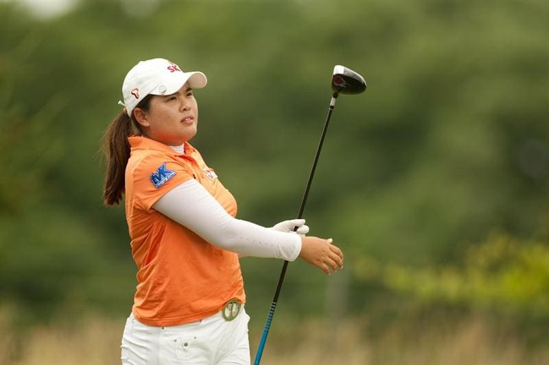 SPRINGFIELD, IL - JUNE 12: Inbee Park of South Korea follows through on a tee shot during the third round of the LPGA State Farm Classic at Panther Creek Country Club on June 12, 2010 in Springfield, Illinois. (Photo by Darren Carroll/Getty Images)
