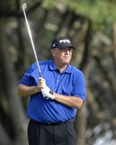 Mark Calcavecchia during the second round of the 2006 Chrysler Championship held at the Westin Innisbrook Golf Resort in Palm Harbor, Florida on October 27, 2006. PGA TOUR - 2006 Chrysler Championship - Second RoundPhoto by Al Messerschmidt/WireImage.com
