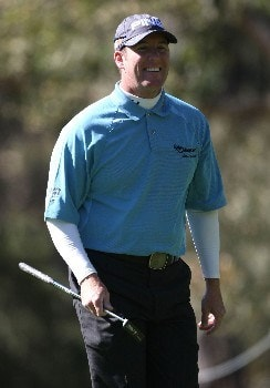 PEBBLE BEACH, CA - FEBRUARY 07:  D.A. Points smiles during the first round of the AT&T Pebble Beach National Pro-Am at Poppy Hills Golf Links on February 7, 2008 in Pebble Beach, California. (Photo by Jed Jacobsohn/Getty Images)