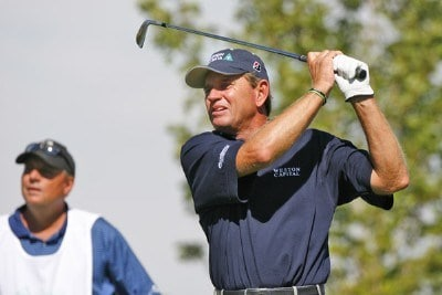 Nick Price during the first round of the Reno Tahoe Open held at Montreux Golf and Country Club in Reno, Nevada, on August 24, 2006.Photo by Stan Badz/PGA TOUR/WireImage.com