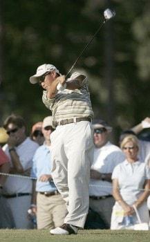 Toru Taniguchi during the first round of the 2005 U.S. Open Golf Championship at Pinehurst Resort course 2 in Pinehurst, North Carolina on June 16, 2005.Photo by Sam Greenwood/WireImage.com