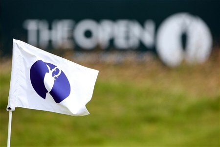 SOUTHPORT, UNITED KINGDOM - JULY 16:  General detail of an open flag stick  during the third practice round of the 137th Open Championship on July 16, 2008 at Royal Birkdale Golf Club, Southport, England.  (Photo by Stuart Franklin/Getty Images)