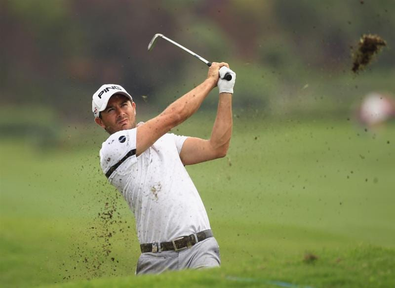 CHENGDU, CHINA - APRIL 21:  Gareth Maybin of Northern Ireland in action during first round of the Volvo China Open at Luxehills Country Club on April 21, 2011 in Chengdu, China.  (Photo by Ian Walton/Getty Images)