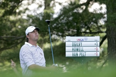 Bo Van Pelt during the first round of the 2006 U.S. Open Golf Championship at Winged Foot Golf Club in Mamaroneck, New York on June 15, 2006.Photo by Michael Cohen/WireImage.com