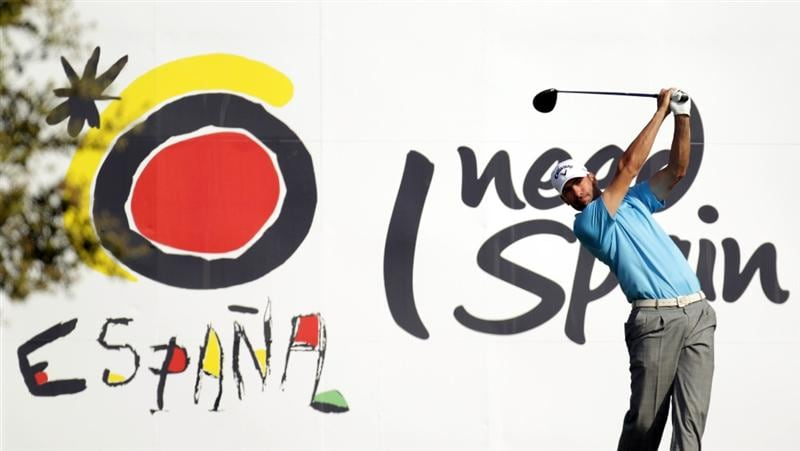 BARCELONA, SPAIN - MAY 05:  Alvaro Quiros of Spain during the first round of the Open de Espana at the the Real Club de Golf El Prat on May 5 , 2011 in Barcelona, Spain.  (Photo by Ross Kinnaird/Getty Images)