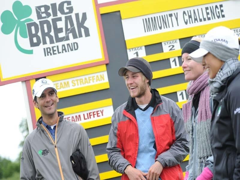 Julien Trudeau, Big Break Ireland, Nina Rodriguez, Joe Campbell, Nicole Smith