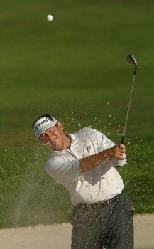 Bobby Wadkins in action during the first round of the 2005 Boeing Greater Seattle Classic at TPC Snoqualmie in Snoqualmie, Washington August 19, 2005.Photo by Steve Grayson/WireImage.com