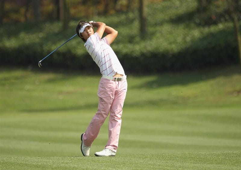CHENGDU, CHINA - APRIL 24:  Danny Lee of New Zealand in action during day four of the Volvo China Open at Luxehills Country Club on April 24, 2011 in Chengdu, China.  (Photo by Ian Walton/Getty Images)