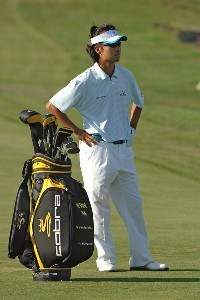 Kevin Na wins the 2006 Mark Christopher Charity Classic at the Empire Lake Golf Club in Rancho Cucamonga, California on Sunday, October 8, 2006 Nationwide Tour - 2006 Mark Christopher Charity Classic - Final RoundPhoto by Marc Feldman/WireImage.com