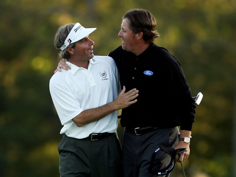 Fred Couples and Phil Mickelson