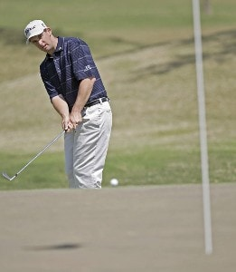 Darron Stiles in action during the final round of the Chitimacha Louisiana Open at Le Triomphe Country Club in Broussard, Louisiana on Sunday, March 26, 2006.Photo by Drew Hallowell/WireImage.com