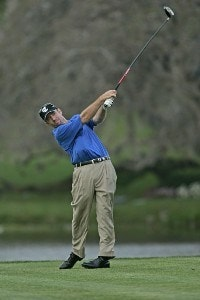 Rod Pampling in action during the fourth round of the Bay Hill Invitational presented by MasterCard at the Bay Hill Club in Orlando, Florida on March 19, 2006.Photo by Michael Cohen/WireImage.com