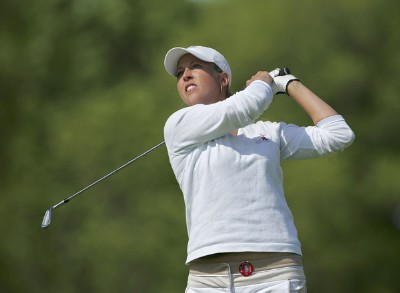 Beth Bauer during the second round of the 2006 Sybase Classic at Wygakyl Country Club in  New Rochelle, New York on May 20, 2006.Photo by Michael Cohen/WireImage.com