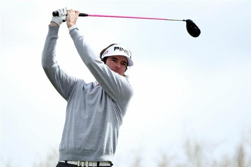 MARANA, AZ - FEBRUARY 27:  Bubba Watson hits his tee shot on the second hole during the final round of the Accenture Match Play Championship at the Ritz-Carlton Golf Club on February 27, 2011 in Marana, Arizona.  (Photo by Andy Lyons/Getty Images)