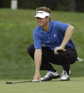 SILVIS, IL - JULY 12:  Tim Petrovic during the first round of The John Deere Classic at the TPC Deere Run on July 12, 2007 in Silvis, Illinois.  (Photo by Marc Feldman/WireImage) *** Local Caption *** Tim Petrovic PGA - John Deere Classic - First RoundPhoto by Marc Feldman/WireImage) *** Local Caption *** Tim Petrovic